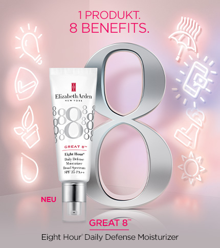 Eight Hour® Great 8 Daily Defense Moisturiser by Elizabeth Arden New Zealand