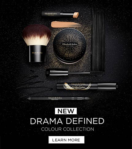 Elizabeth Arden New Zealand : Makeup & Beauty : Drama Defined Makeup Colour Collection
