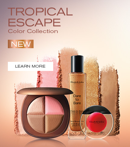 Elizabeth Arden New Zealand : Makeup & Beauty : Tropical Escape Colour Collection